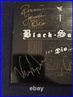 Signed In Person Black Sabbath'the Dio Years' CD Iommi Dio Butler Appice