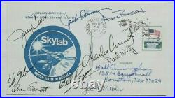 Skylab 9 astronauts All Crews Signed Cover Walt Cunningham Personal Collection