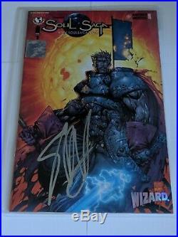 Soul Saga #1 Image Comics Stephen Platt Autographed Signed Wizard Authentic COA