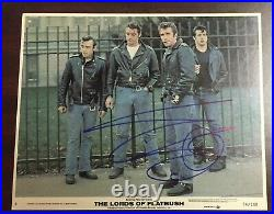 Sylvester Stallone Signed Autographed In Person Lobby Card Photo Lords Flatbush