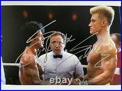 Sylvester Stallone Signed Photo 21x30CM Autograph In Person Rocky Rambo Actor