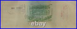 TY COBB Signed Beckett Slabbed Feb 14 1948 Personal Check Detroit Tigers HOF BAS