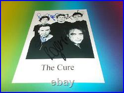 The Cure Robert Smith signed signiert autograph Autogramm Foto in person