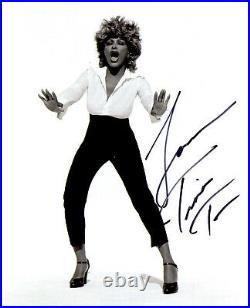 Tina Turner In-person signed authentic 8x10 photo COA