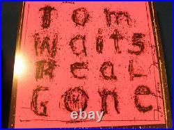 Tom Waits Signed Lp Album In Person Coa Rare! Autographed Album Rare