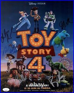 Tony Hale TOY STORY 4 Cast X5 Signed 11x14 Photo In Person Autograph JSA COA