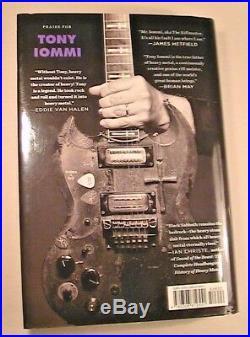 Tony Iommi Signed In Person'iron Man' Hc 1st/1st Ed Black Sabbath Heaven & Hell