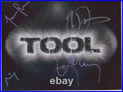 Tool (Band) Danny Carey Fully Signed Photo Genuine In Person + Hologram COA
