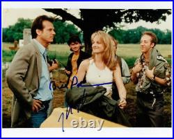 Twister Helen Hunt Bill Paxton in-person signed 8x10 photo COA