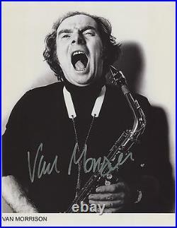 Van Morrison Signed 8 x 10 Photo Genuine In Person + Hologram COA